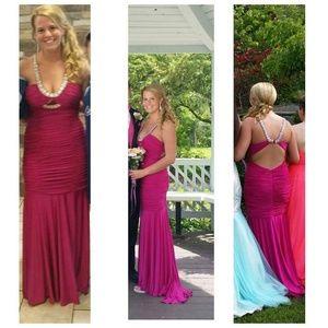 Gorgeous unique prom dress!